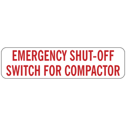DB-1040 Emergency Shut-Off Switch for Compactor